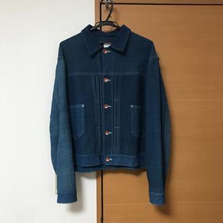 サンシー(SUNSEA)のstory mfg sundae jacket(レザージャケット)