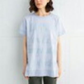 ランバンオンブルー(LANVIN en Bleu)のランバンオンブルー★ラバープリントビッグTシャツ(Tシャツ(半袖/袖なし))