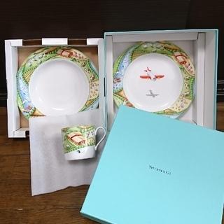 ティファニー(Tiffany & Co.)のTIFFANY FARM ベビー、キッズ食器セット《新品未使用 箱・紙袋付き》(プレート/茶碗)