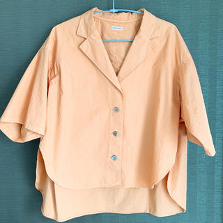 ドレステリア(DRESSTERIOR)のオレンジシャツ(シャツ/ブラウス(半袖/袖なし))