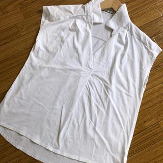 ベイフロー(BAYFLOW)の白トップス(カットソー(半袖/袖なし))