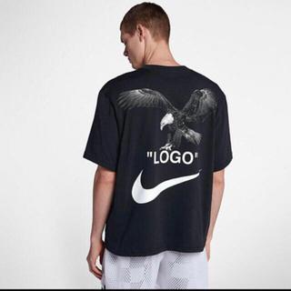 ナイキ(NIKE)の本日発送 NIKE x OFF-WHITE FOOTBALL tシャツ(Tシャツ/カットソー(半袖/袖なし))