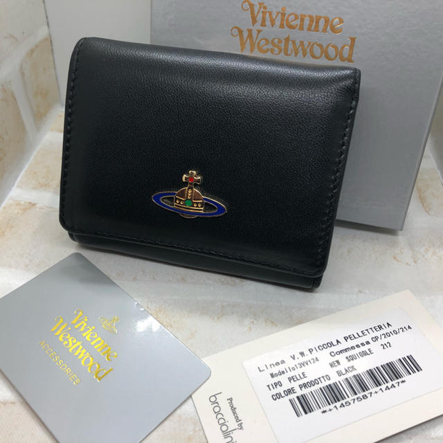 プラダ バッグ パープル スーパー コピー 、 Vivienne Westwood - ヴィヴィアンウエストウッド  三つ折り財布 ブラック 新品未使用の通販 by ぷーちゃん's shop|ヴィヴィアンウエストウッドならラクマ