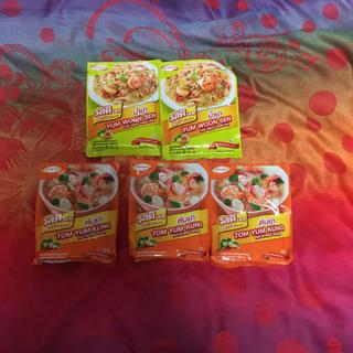 アジノモト(味の素)のタイヤムウンセン春雨サラダ&トムヤムクンの素AJINOMOTO5個セット(調味料)