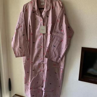 ベルメゾン - g-houseネコ柄のロング丈パジャマ