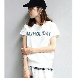 フレームワーク(FRAMeWORK)のFRAMeWORK  ミニウラケ ハーフスリーブ Tシャツ  フレームワーク(Tシャツ(半袖/袖なし))