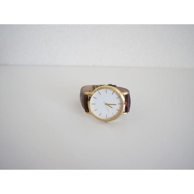 nano・universe - nano・universe 本革レザーベルト 腕時計 茶 ナノユニバースの通販 by ronro_ab  Shop|ナノユニバースならラクマ