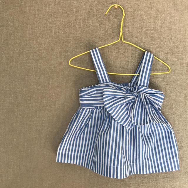 petit main(プティマイン)のトップス キッズ/ベビー/マタニティのベビー服(~85cm)(タンクトップ/キャミソール)の商品写真