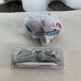 ジャル(ニホンコウクウ)(JAL(日本航空))のJAL 日本航空  フィギュア ぬいぐるみ マスコット(模型/プラモデル)