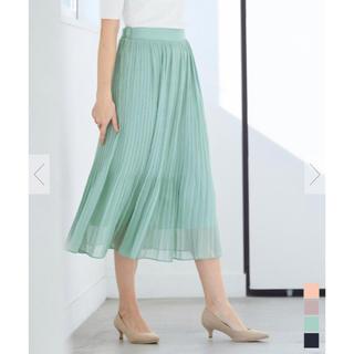 ティティベイト(titivate)のur's ランダムプリーツスカート(ロングスカート)