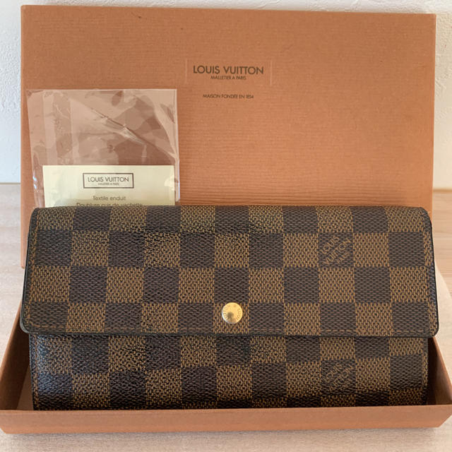 LOUIS VUITTON - 【美品】◆ルイヴィトン  ポルトフォイユサラ  ダミエ◆の通販 by アユム's  shop|ルイヴィトンならラクマ
