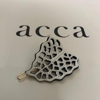 アッカ(acca)の【新品】acca  ヘアアクセサリー(バレッタ/ヘアクリップ)
