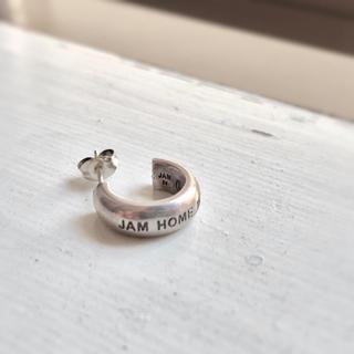 ジャムホームメイドアンドレディメイド(JAM HOME MADE & ready made)のJam Home Made ラウンドダイヤモンドピアス(片耳)(ピアス(片耳用))