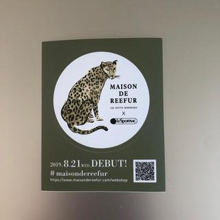 メゾンドリーファー(Maison de Reefur)のMAISON DE REEFUR メゾンドリーファー×レスポートサックステッカー(その他)