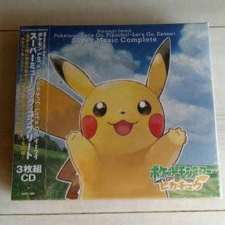 ポケモン(ポケモン)の新品 ポケットモンスター スーパーミュージックコンプリート(ゲーム音楽)