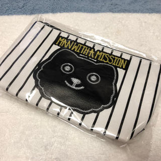 MAN WITH A MISSION - MAN  WITH A MISSION ちょうどいいポーチ 甲子園限定品
