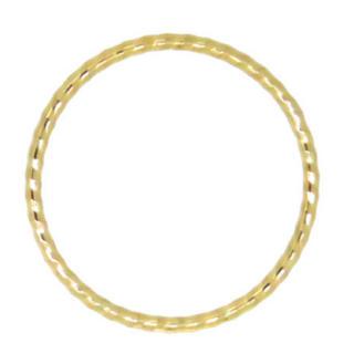 とても華奢なピンキーリングk10 5号(リング(指輪))