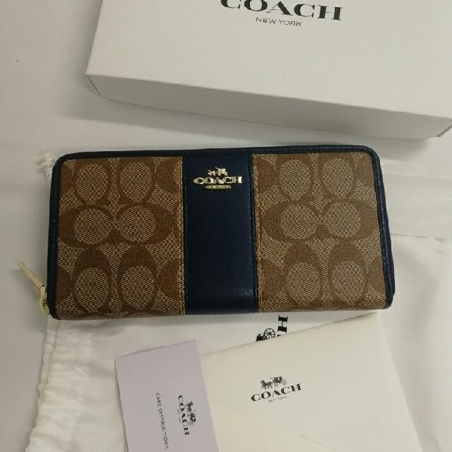 COACH - 大人気  COACH コー� 長財布 �銭入れ52859 �通販 by イシザキ's shop|コー��らラクマ