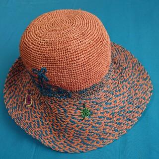 ヴィヴィアンウエストウッド(Vivienne Westwood)の専用 ヴィヴィアン ウエストウッドの可愛い麦わら帽子 ハット(麦わら帽子/ストローハット)