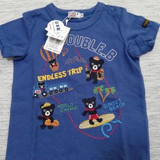 ミキハウス(mikihouse)のミキハウス ダブルB Tシャツ 90(Tシャツ/カットソー)