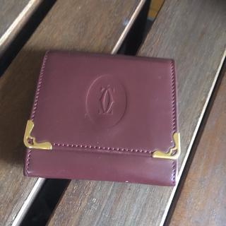 カルティエ(Cartier)のCARTIER コインケース 正規品 美品(コインケース/小銭入れ)