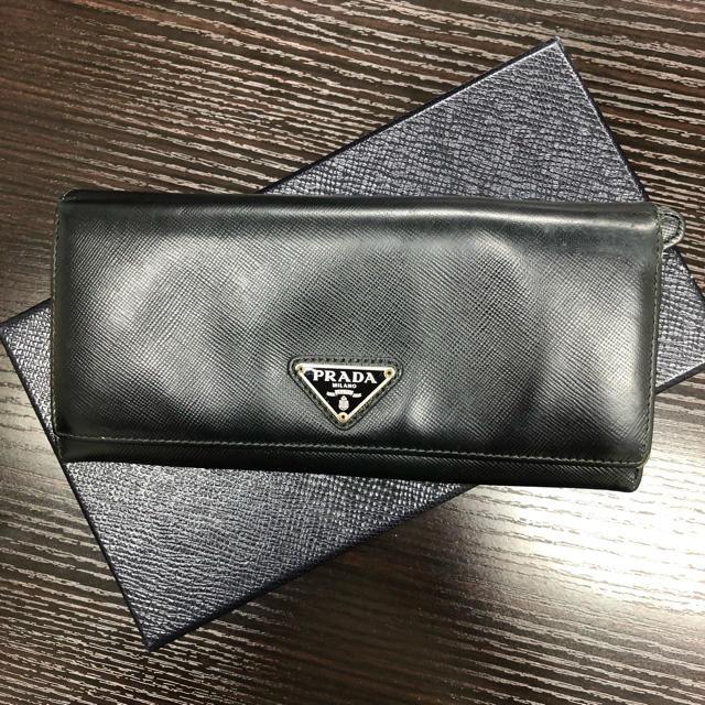 116334 ホワイト 偽物 - PRADA - ❤️素敵❤️ PRADA プラダ 長財布 ブラック 正規品の通販 by mint|プラダならラクマ