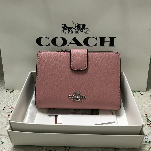 COACH - 新品!コーチ 折り財布 F53436の通販 by ハユン's shop|コーチならラクマ