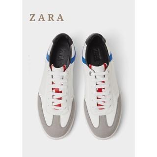 ザラ(ZARA)のZARA ザラ メンズスニーカー マルチカラースニーカー ホワイトスニーカー(スニーカー)