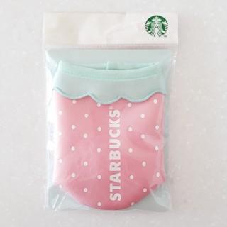 スターバックスコーヒー(Starbucks Coffee)の韓国スタバ 2017 いちご ボトル ケース カバー(日用品/生活雑貨)