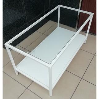 イケア(IKEA)の値下げしました![美品] IKEA ガラストップ コーヒーテーブル(コーヒーテーブル/サイドテーブル)