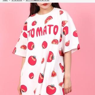 プニュズ(PUNYUS)のプニュズ・PUNYUSトマトTシャツ・サイズ4(Tシャツ(半袖/袖なし))