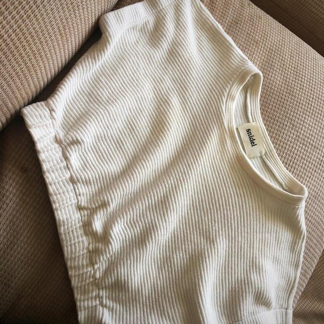 snidel(スナイデル)のスナイデル ニットトップス レディースのトップス(カットソー(半袖/袖なし))の商品写真
