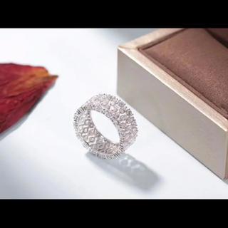 360°フルダイヤモンド指輪(リング(指輪))