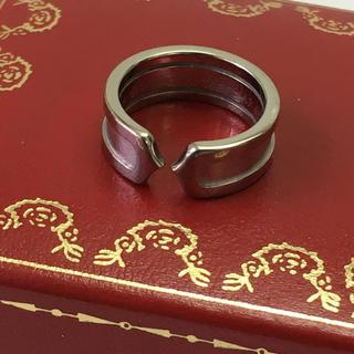 カルティエ(Cartier)のカルティエ Cリング K18WG ケース付(リング(指輪))