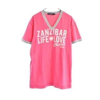 ドルチェアンドガッバーナ(DOLCE&GABBANA)の☆ドルチェアンドガッバーナ ドルガバ Tシャツ/メンズ/L(50)☆ピンク (Tシャツ/カットソー(半袖/袖なし))