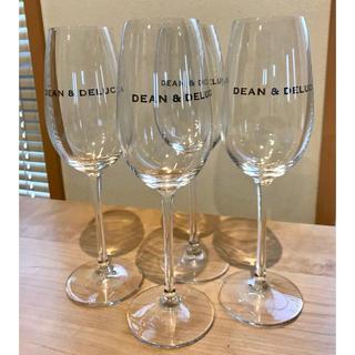 ディーンアンドデルーカ(DEAN & DELUCA)のDEAN & DELUCA × RIEDEL シャンパングラス4個セット(グラス/カップ)