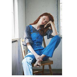 エディットフォールル(EDIT.FOR LULU)のmangata flower blouse(シャツ/ブラウス(半袖/袖なし))