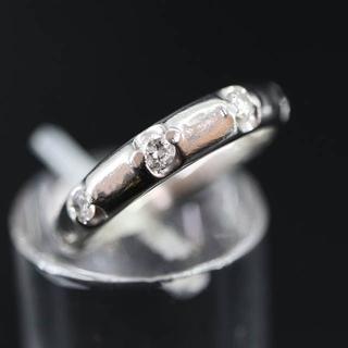 Pt900 プラチナ 5ポイント ダイヤモンド リング 0.25ct(リング(指輪))