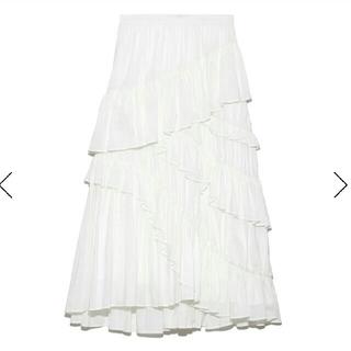 フレイアイディー(FRAY I.D)のフレイアイディー コットンティアードスカート(ロングスカート)