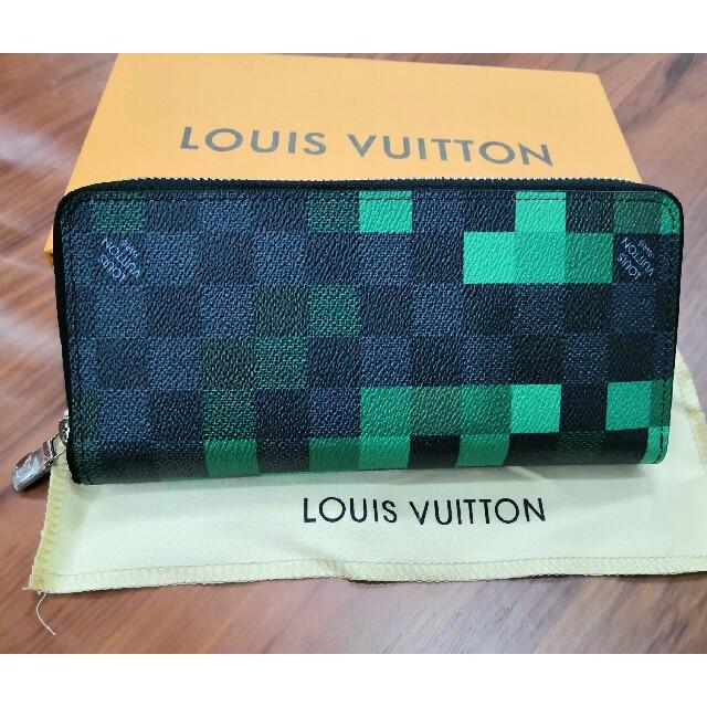 二つたたみ 長財布 ファスナー ルイヴィトン 超美品 メンズ の通販 by アキノリ🏵🍾️🎗🍷's shop|ラクマ
