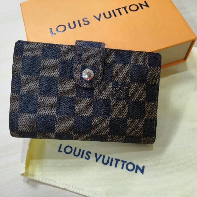 超美品 開閉式 二つたたみ ルイヴィトン 折り メンズ 財布  の通販 by アキノリ🏵🍾️🎗🍷's shop|ラクマ