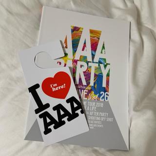 トリプルエー(AAA)のAAA 会報誌vo.26(国内アーティスト)