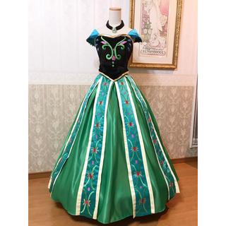 ディズニー(Disney)の❁Dハロ❁アナと雪の女王❁アナ戴冠式衣装デラックス版❁新品(その他ドレス)