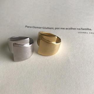 トゥデイフル(TODAYFUL)のリピ様SALEマットリングゴール(リング(指輪))