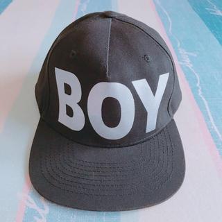 ボーイロンドン(Boy London)の✞ BOY LONDON 🦅スナップバック ✞ シルバー(キャップ)
