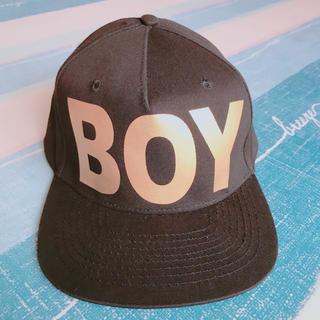ボーイロンドン(Boy London)の✞ BOY LONDON 🦅スナップバック ✞ ゴールド(キャップ)