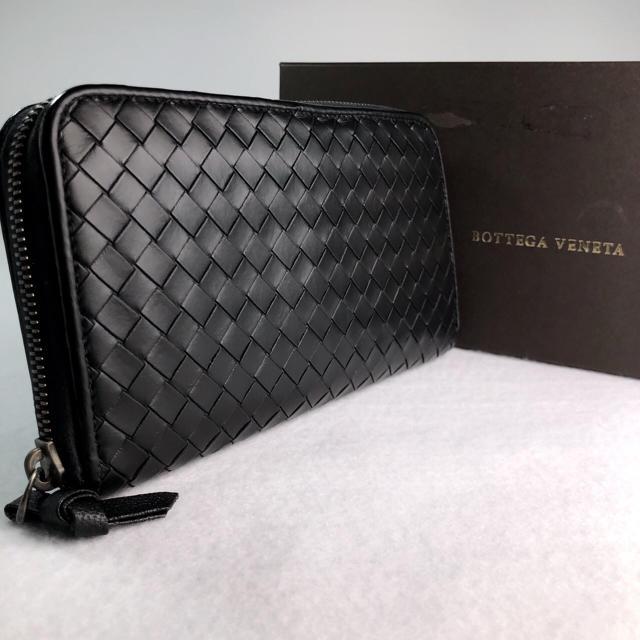 Bottega Veneta - ボッテガヴェ�タ ラウンドジッピーウォレット  黒�通販 by �る� |ボッテガヴェ�タ�らラクマ