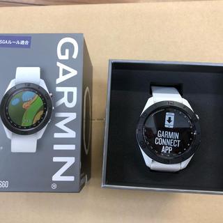 ガーミン(GARMIN)のガーミン アプローチ S60 ホワイト(その他)