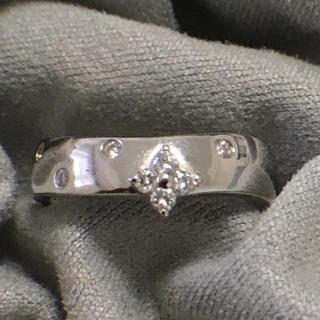 ヴァンドームアオヤマ(Vendome Aoyama)のヴァンドーム ダイヤモンドリング 指輪 k18wg VENDOME 花(リング(指輪))