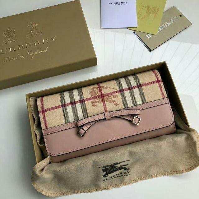 BURBERRY - BURBERRYバーバリー 長財布の通販 by サイキ's shop|バーバリーならラクマ